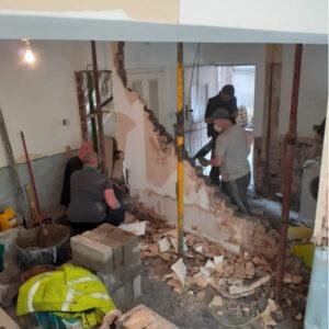 Heavy Duty Wall Removal