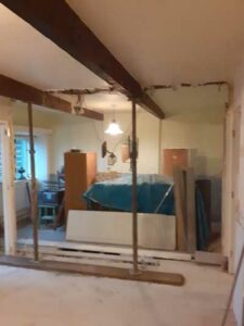 complete wall removal